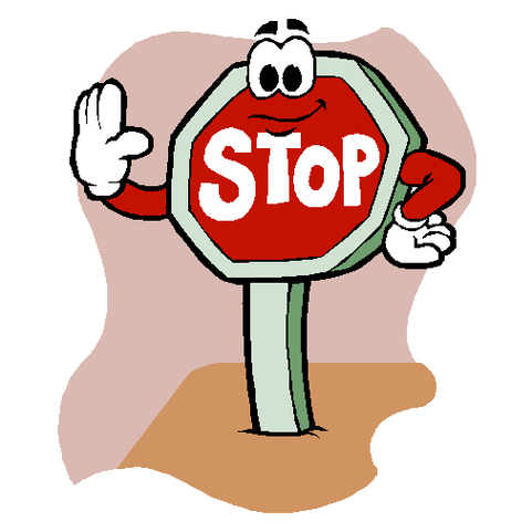 Stop Sign Clipart Sketch 4761.
