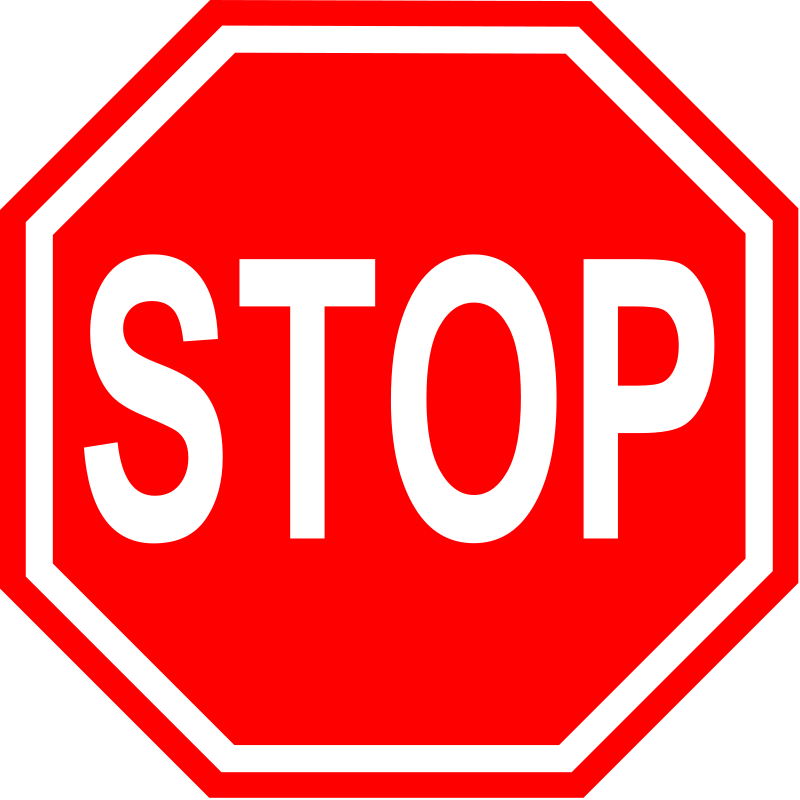 Stop Sign Clip Art Microsoft.