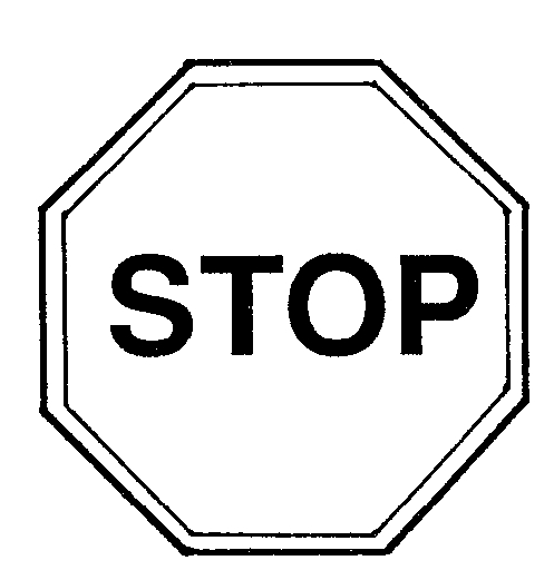 50+ Stop Sign Clip Art Black And White.