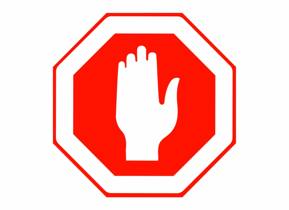 Free Stop Sign Transparent Image.