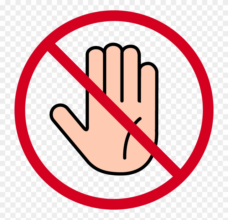 Stop Hand Png.
