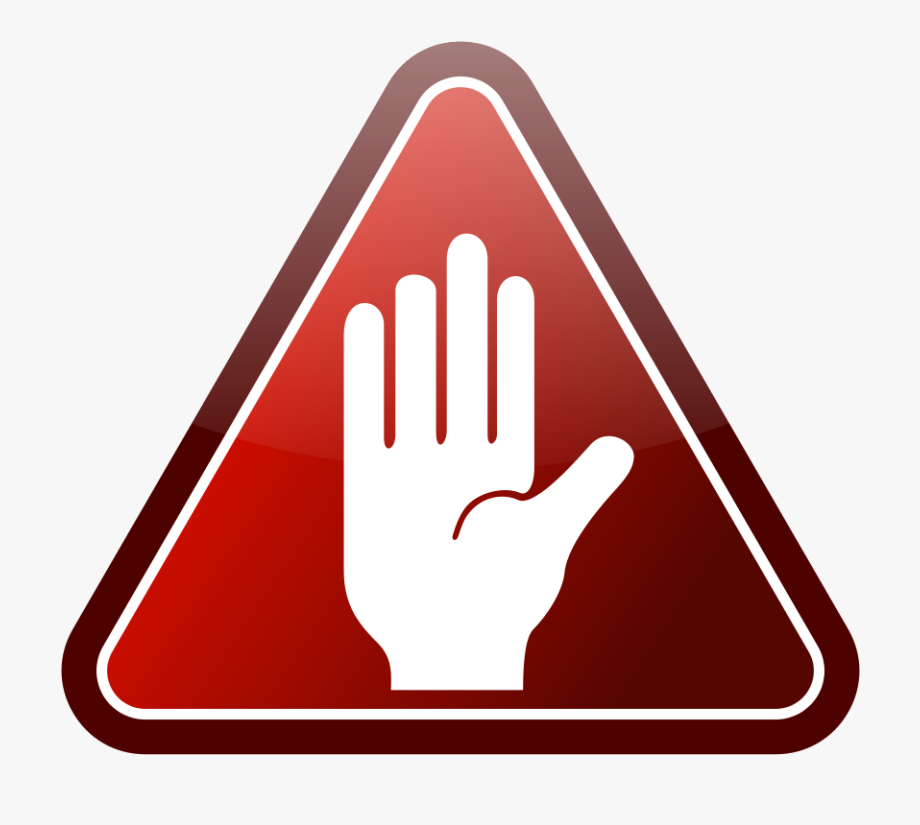 Stop Clipart Hand.