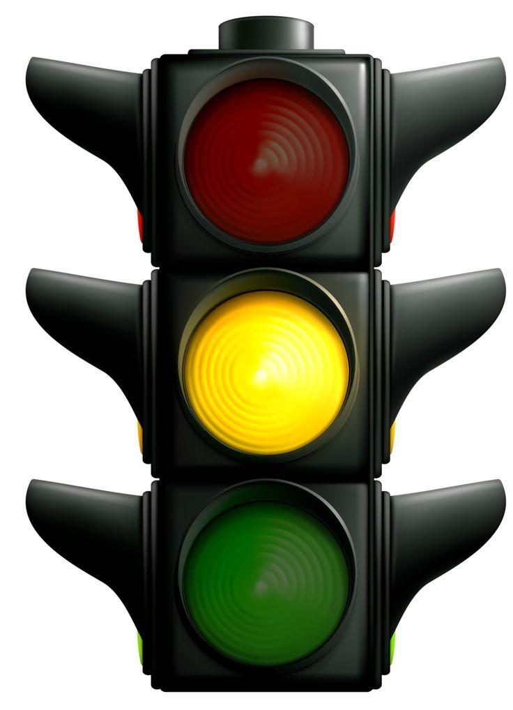 Stoplight stop light clip art traffic clipart image.
