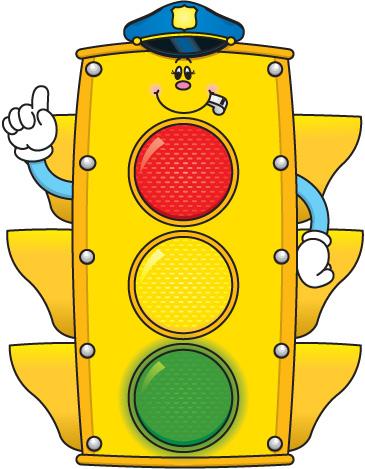 Stop Light For Behavior Clipart.