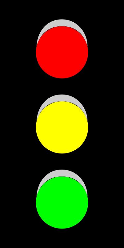 Free Clipart: Traffic Light (V).