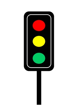 Traffic lights clipart.