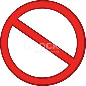 Cartoon Stop Sign Clipart Image.