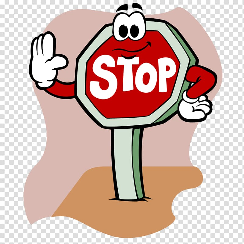 Stop sign , sign stop transparent background PNG clipart.