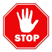 clipart of stop sign #10