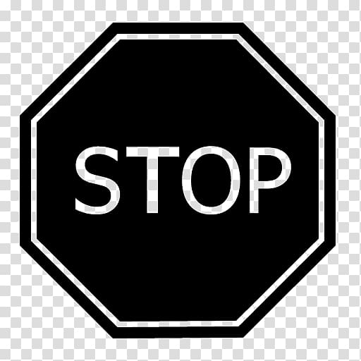Stop sign Computer Icons Traffic sign , stop sign.