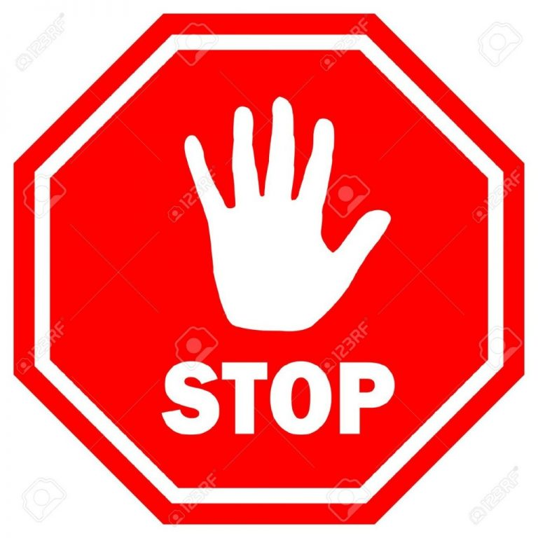 Stop sign clipart 2 » Clipart Station.