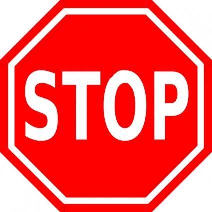Stop Sign Clip Art Free. I Description from theoaks395.com.