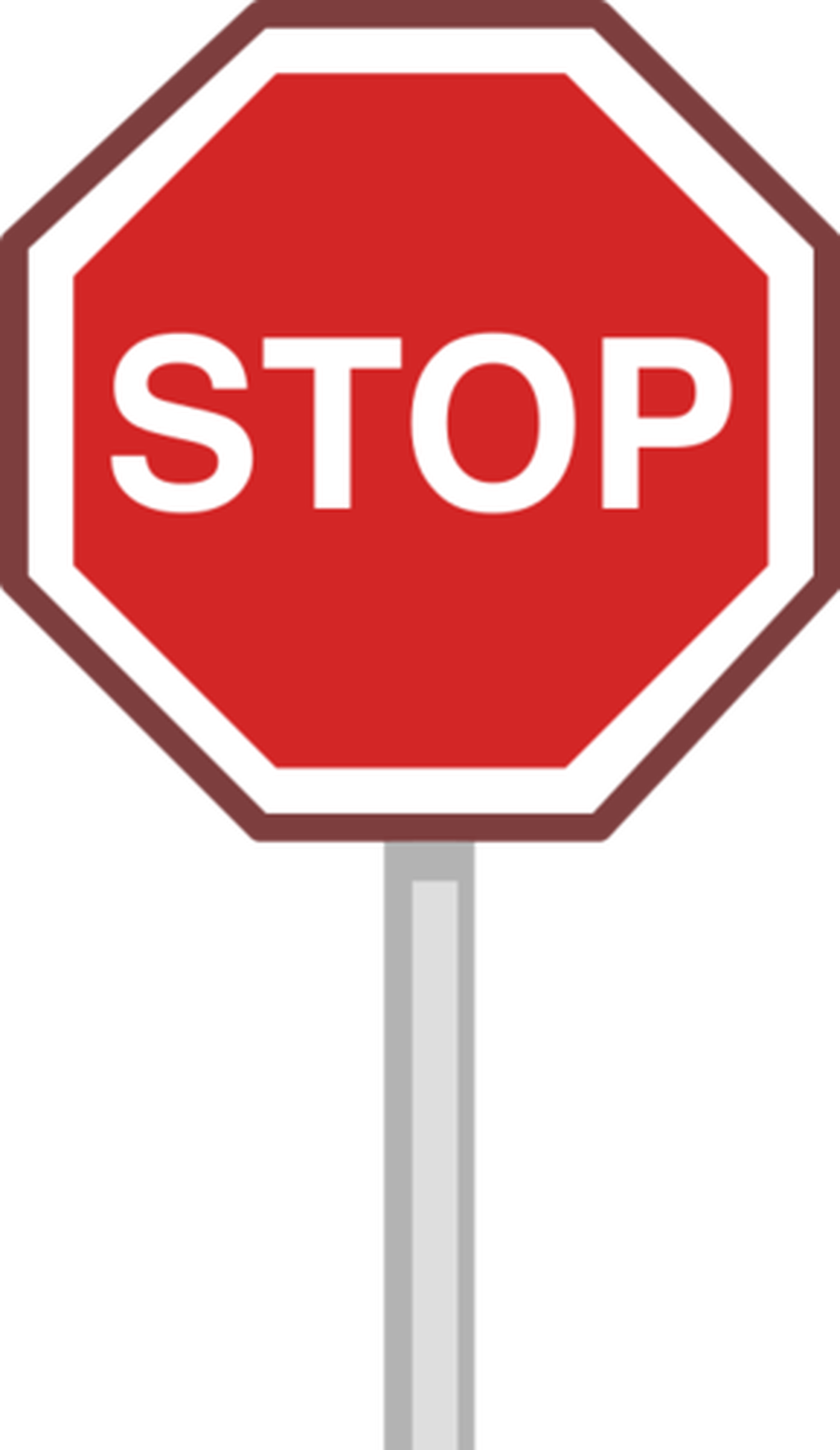 Sign Stop PNG Image.