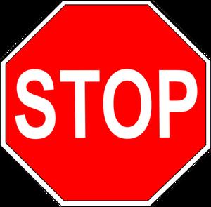 12240 stop sign clip art symbol.