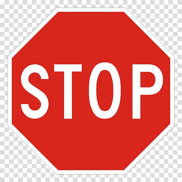 Stop sign Traffic sign Signage Logo, hand stop sign.
