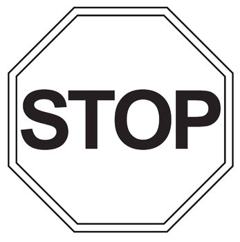 FREE Clip Art: Stop Sign and Go Sign.