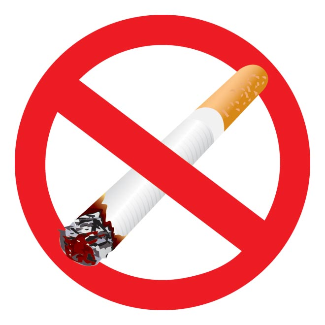 No smoking stop smoking sign clipart kid.