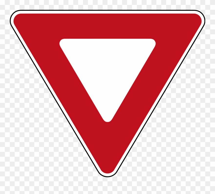 Yield Means You Must Give The Right Of Way To Other.