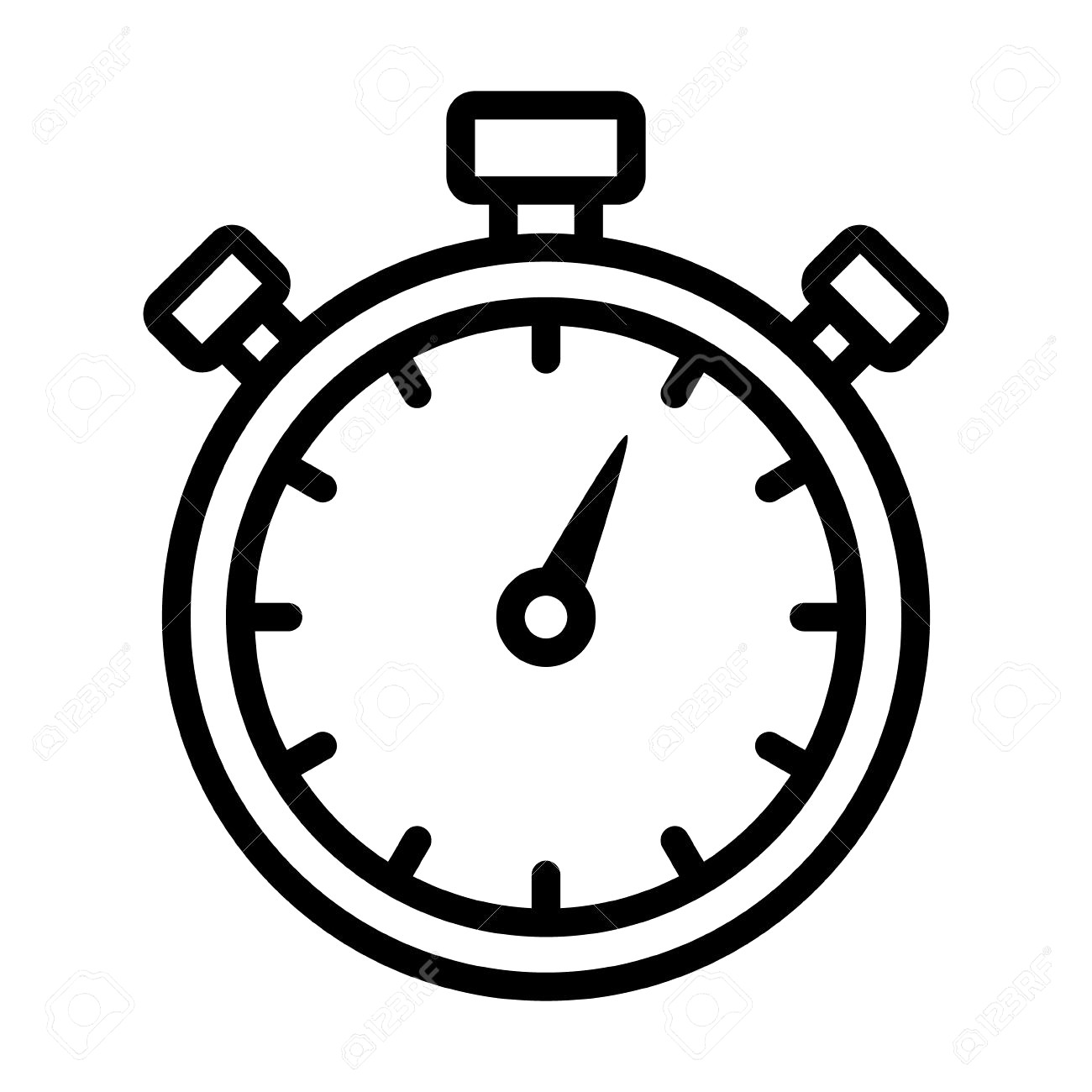 Stop watch clipart » Clipart Station.