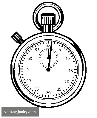 Stopwatch Clipart.
