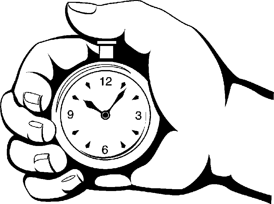 Stopwatch Clipart Black And White.