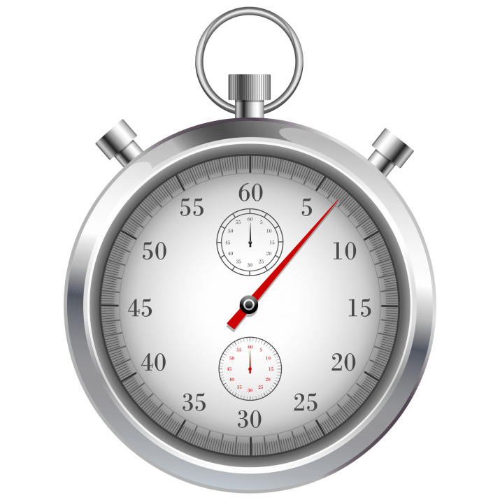 Mechanical Stopwatch Png image.