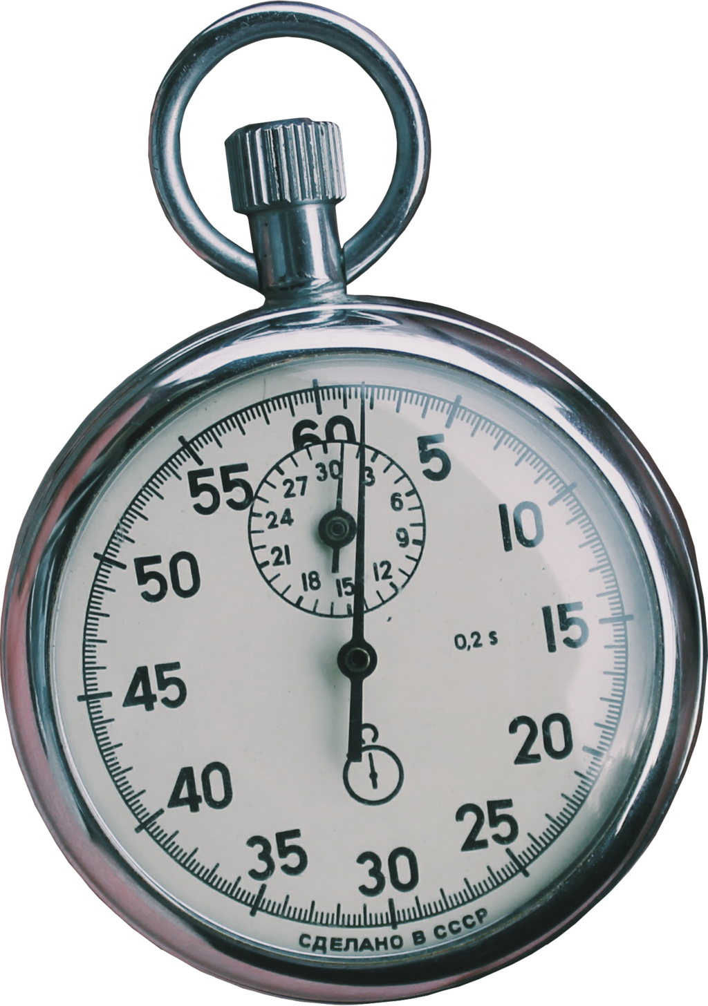Stop Watch Transparent Background PNG.