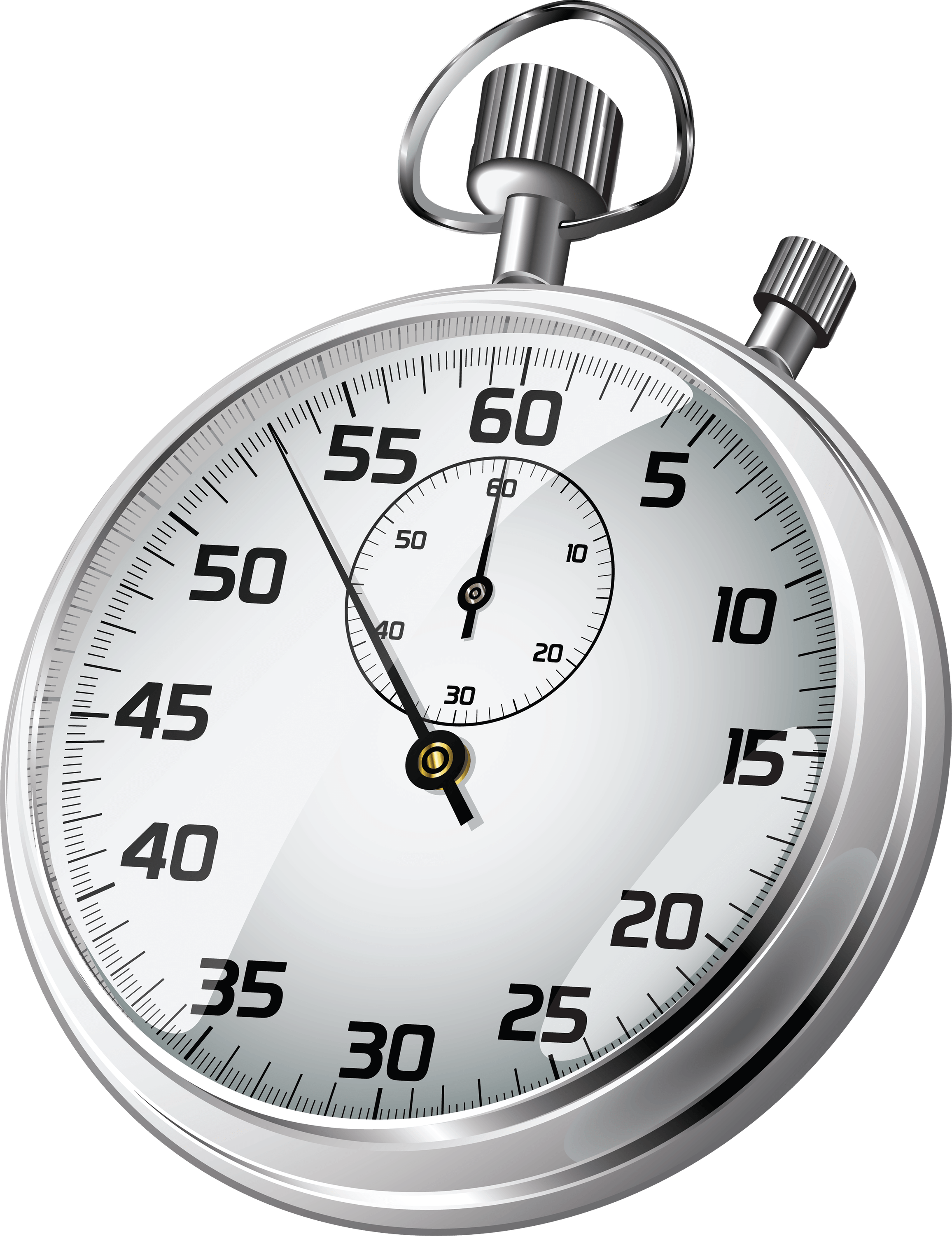 Stopwatch Sideview Clock transparent PNG.