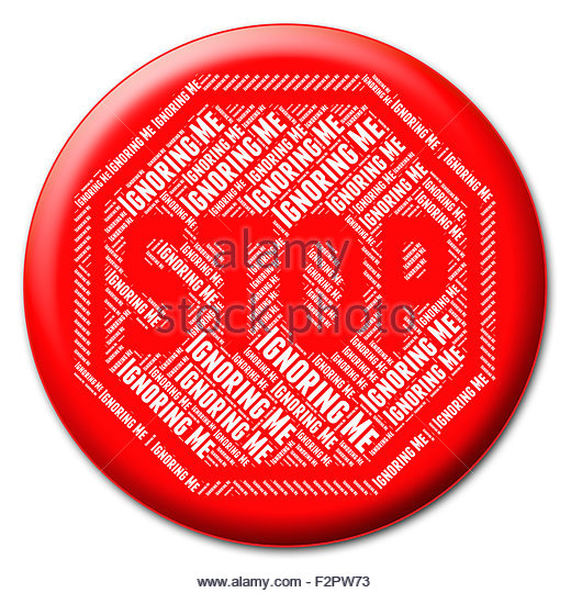 Sign Stopping Restriction Cut Out Stock Images & Pictures.