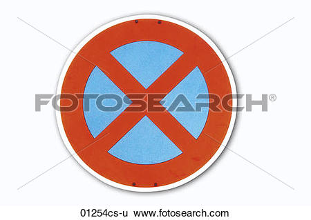 Stock Images of stopping restriction 01254cs.