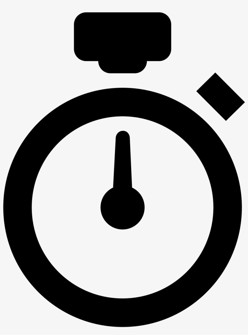 Stopwatch clipart black and white, Stopwatch black and white.