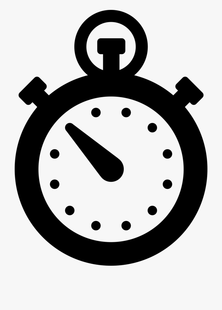 Stopwatch Clipart Simple.