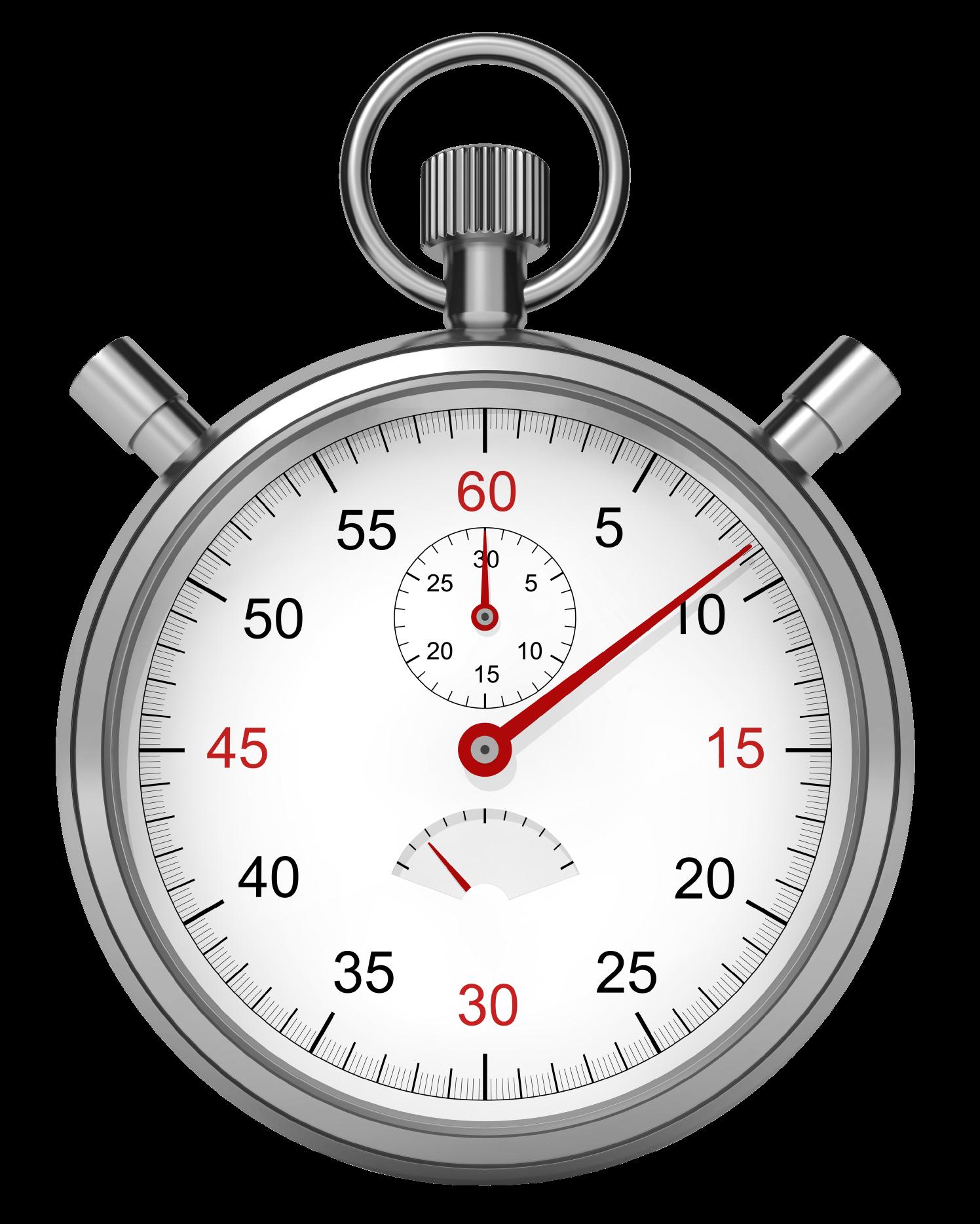Stopwatch Clock transparent PNG.
