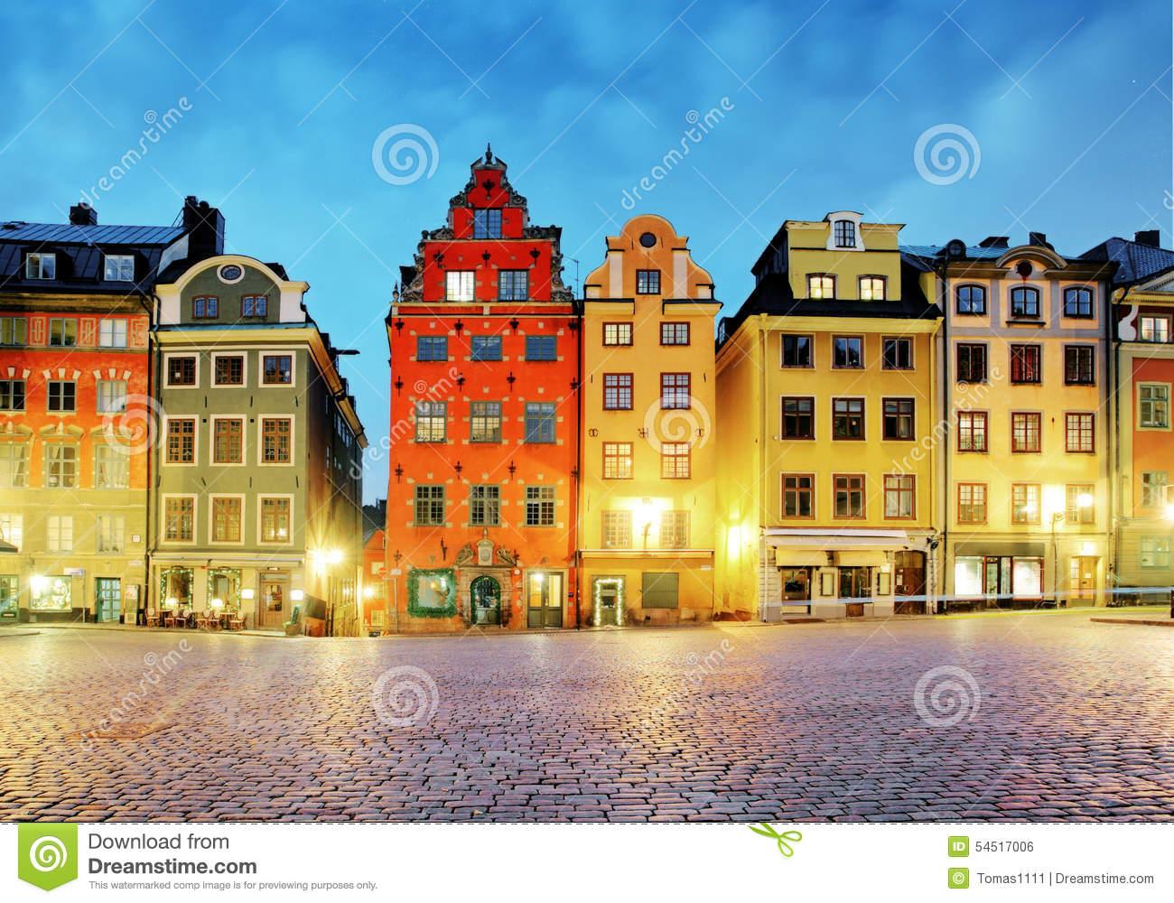 Stortorget, Stockholm, Sweden Royalty Free Stock Images.
