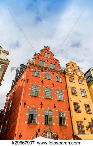 Picture of Stortorget place in Gamla stan, Stockholm k29667907.