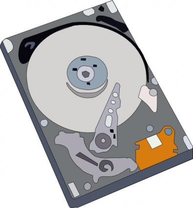 Clipart Hard Disk.