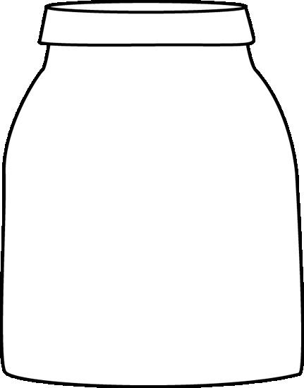 Storage jar clipart #19