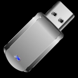 Gray Usb Device Clip Art at Clker.com.