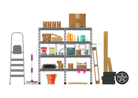 Storage Room Clipart.