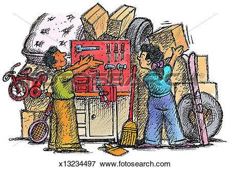 Stock Illustration of Storage Space x13234497.