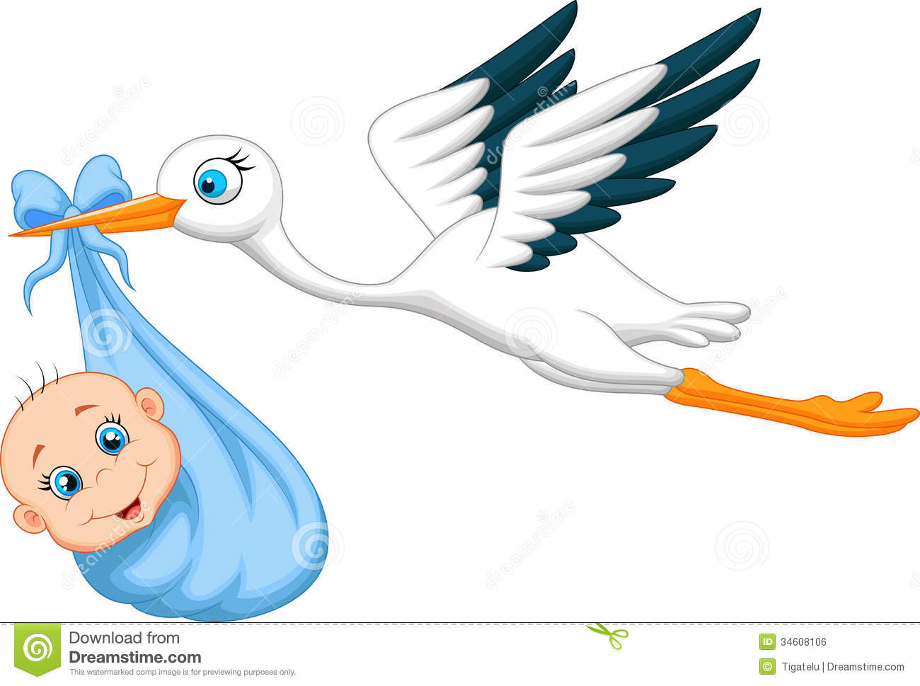 Storch Clipart