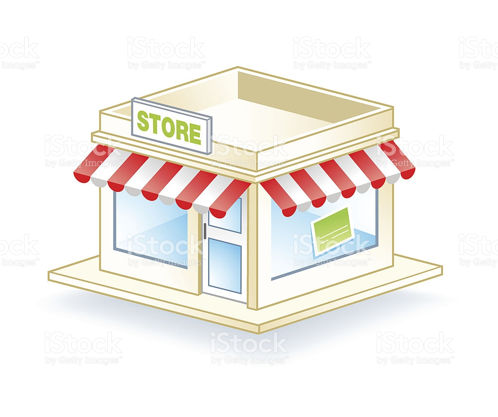 7457 Store free clipart.