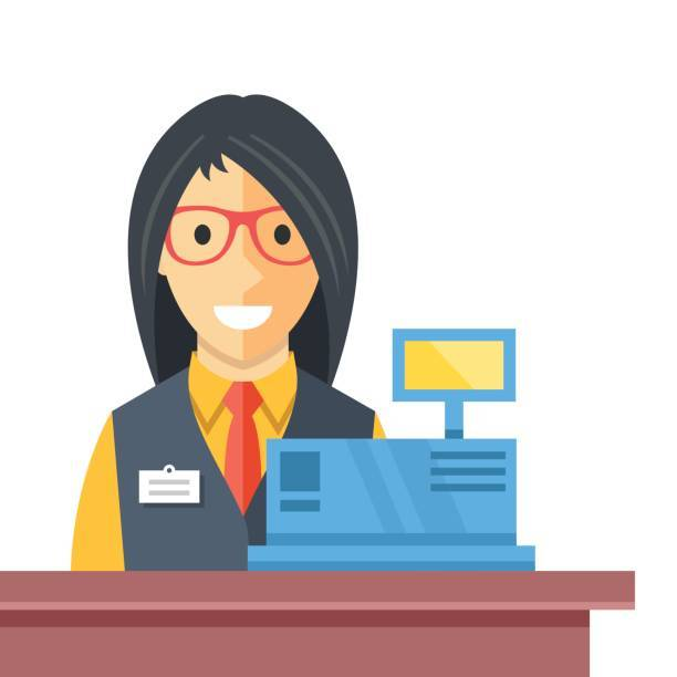 Store clerk clipart 2 » Clipart Portal.