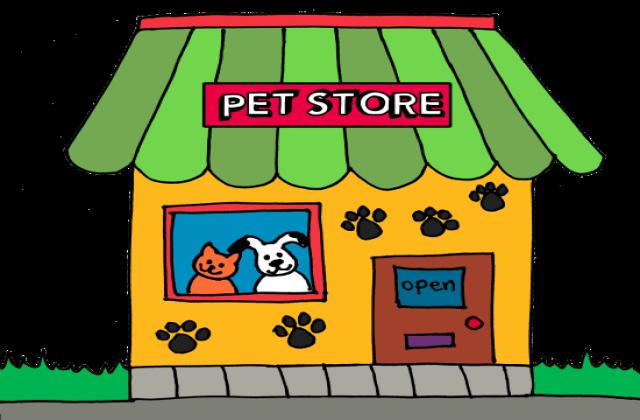 Pet store clipart.