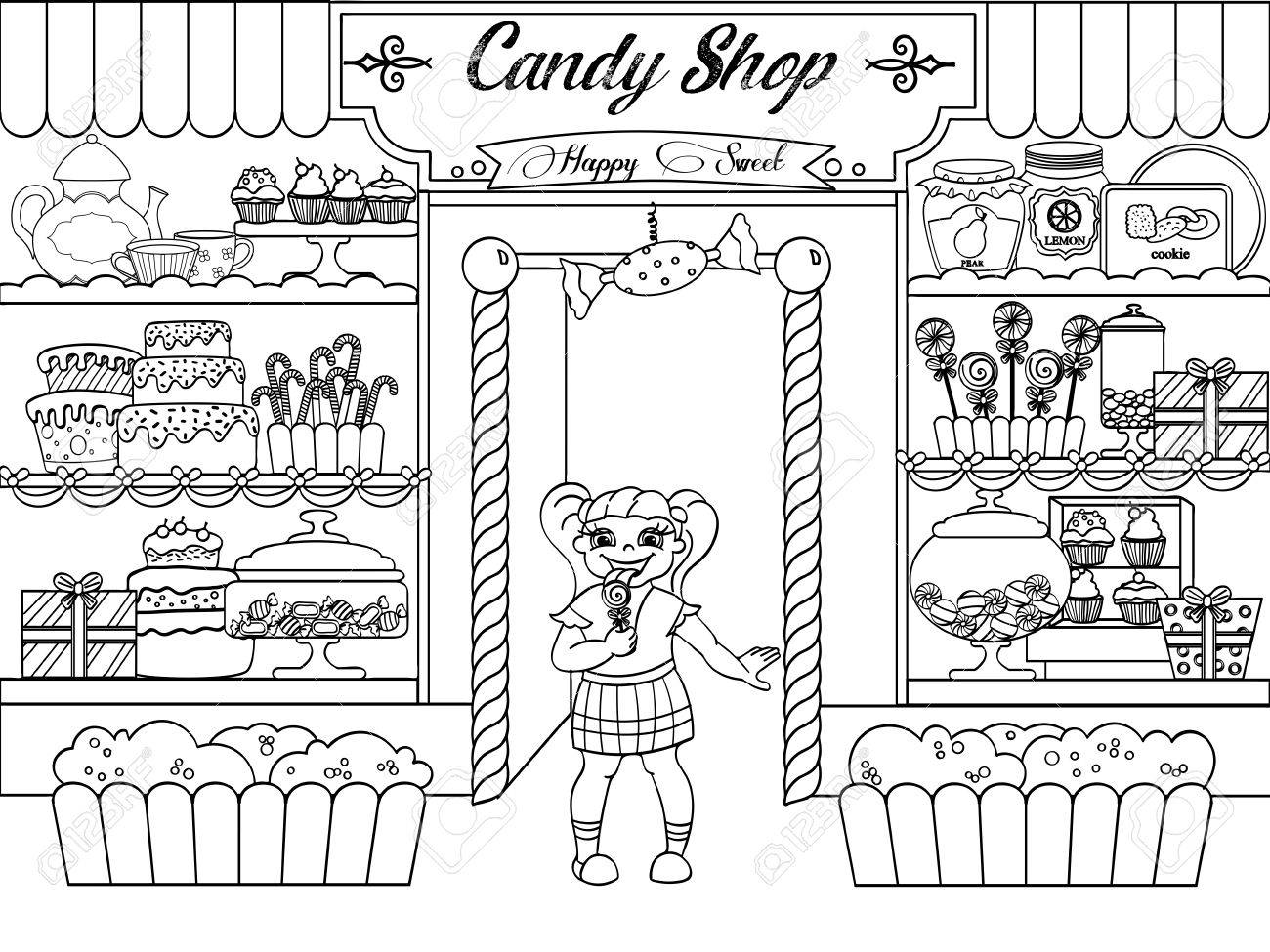 Store Clipart Black And White (83+ images in Collection) Page 2.