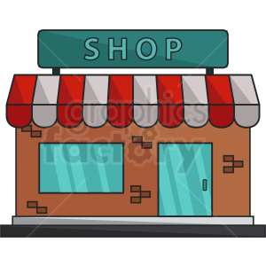 store clipart.