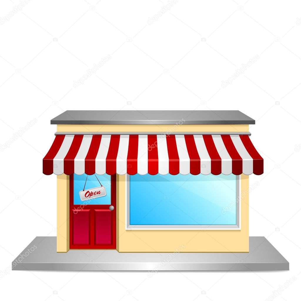 Collection of 14 free Storefront clipart store open.