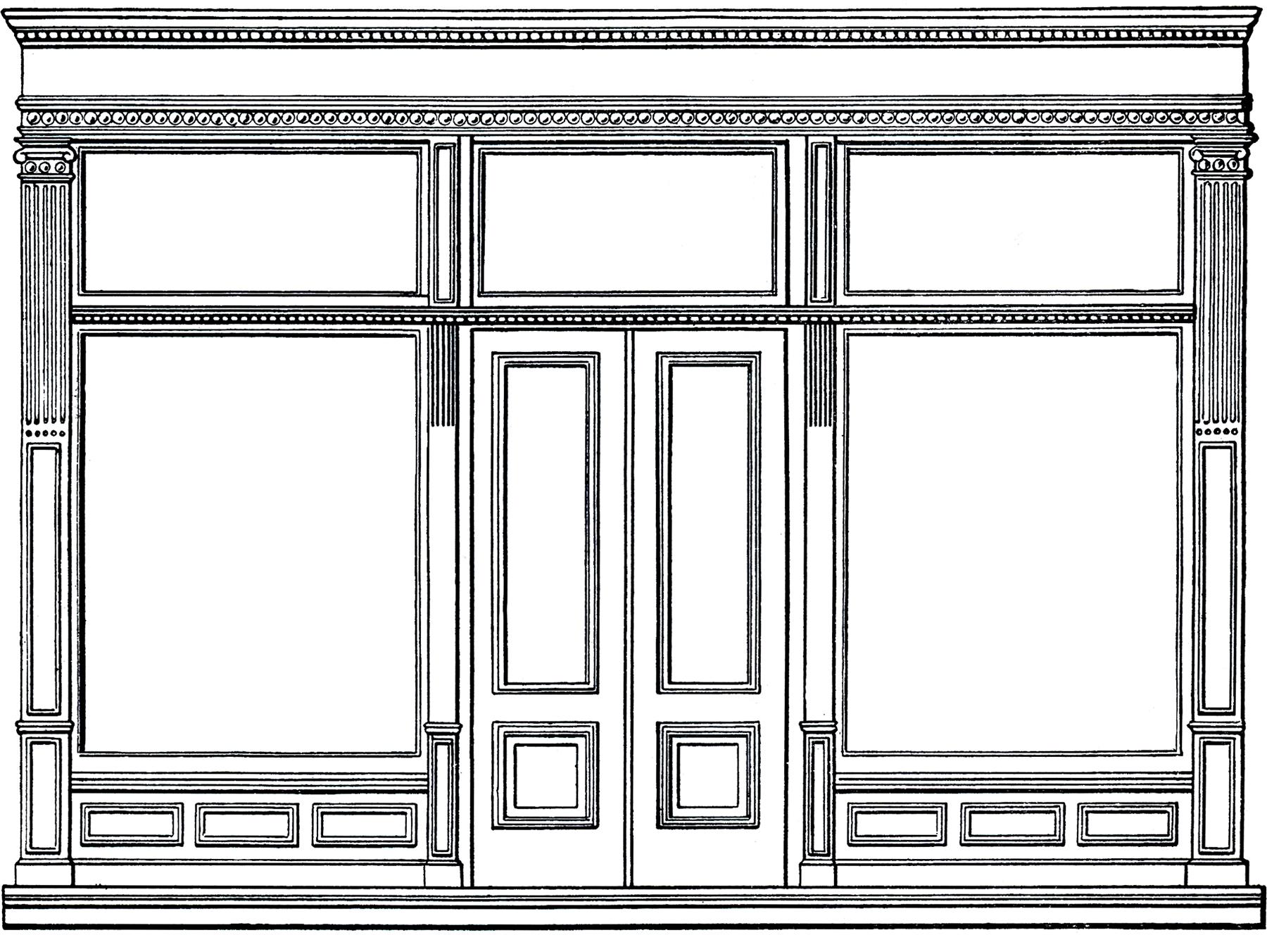 Free Architecture Clip Art.