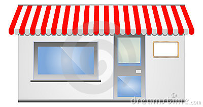 91+ Storefront Clipart.