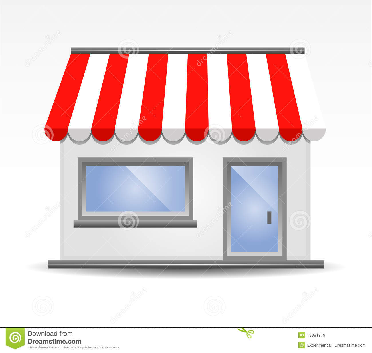 Storefront clipart #7